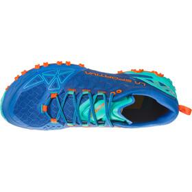 La Sportiva Bushido II Scarpe da corsa Donna, marine blue/aqua